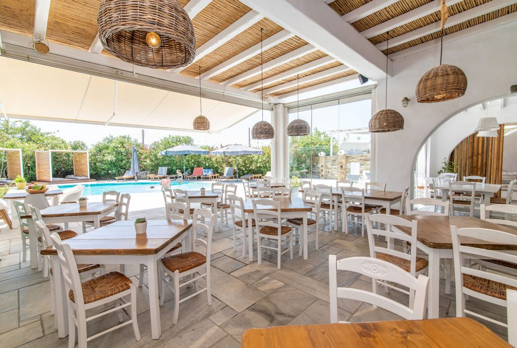 Anthea Hotel Tinos | Restaurant / Bar