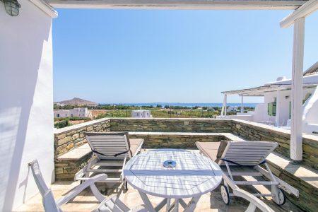 Junior suite sea view / Μονόχωρη σουίτα με θέα στη θάλασσα μπαλκόνι